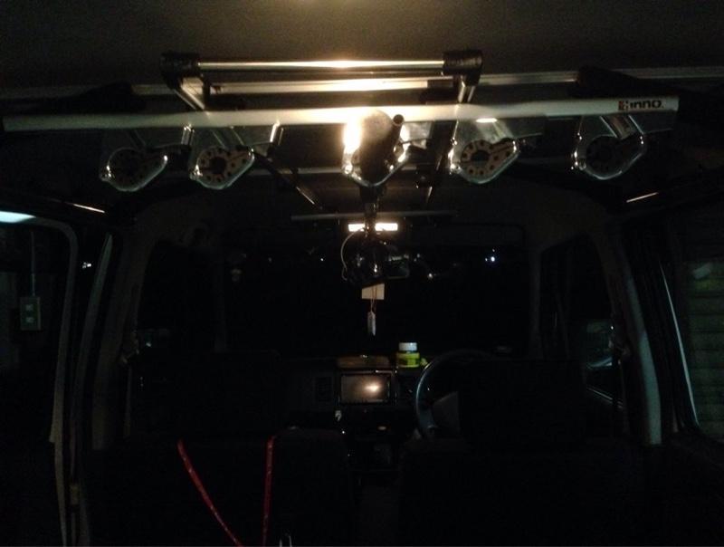 CAR MATE / カーメイト 8ロッドホルダー FT / ZR306