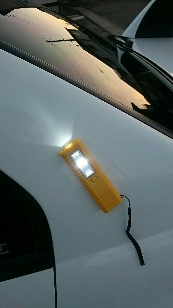 ジェームス オリジナルマグネット付2灯LEDライト