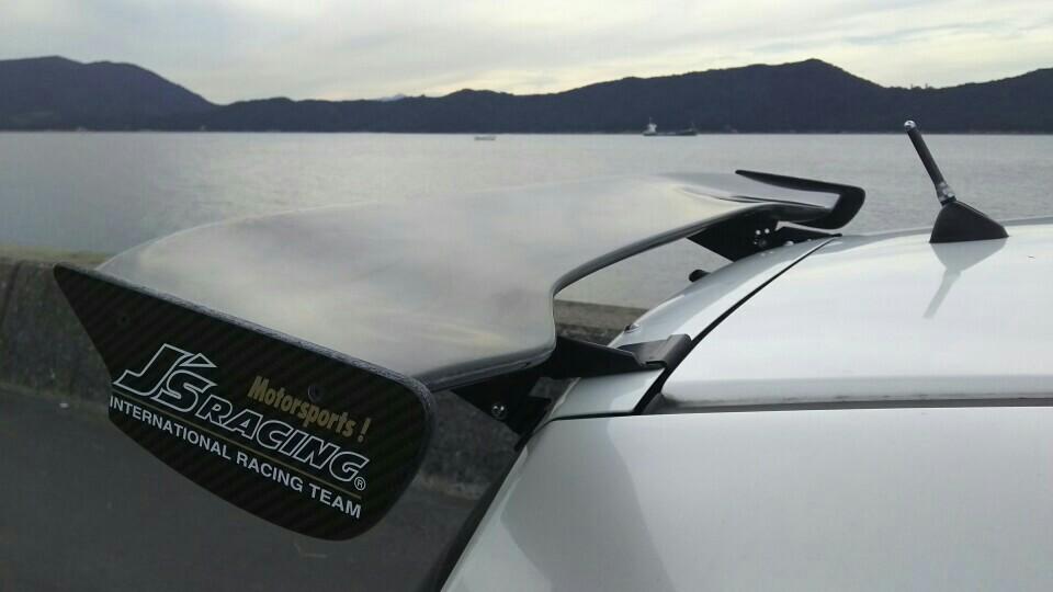J'S RACING 3D GT-WING WETカーボン