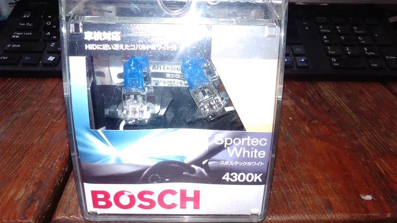 BOSCH スポルテックホワイト 4300K H3(BHBP-SWH3)