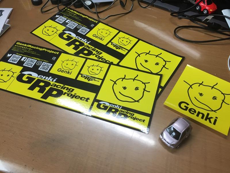 genki Genki Racing Project オリジナルステッカー