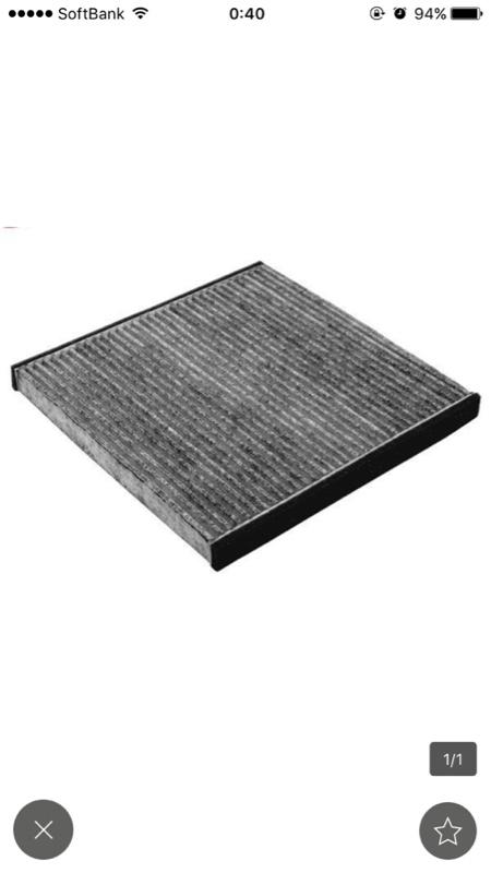 ヤフオク産 活性炭入エアコンフィルター