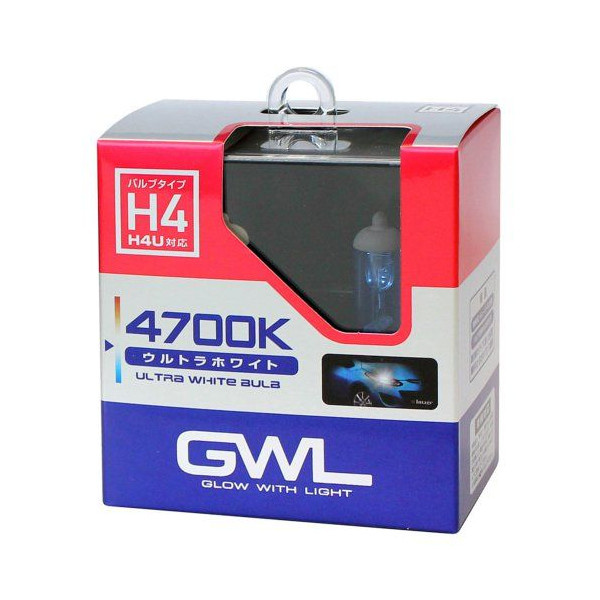 MIRAREED S1407 GWL ウルトラホワイトバルブ H4 4700K