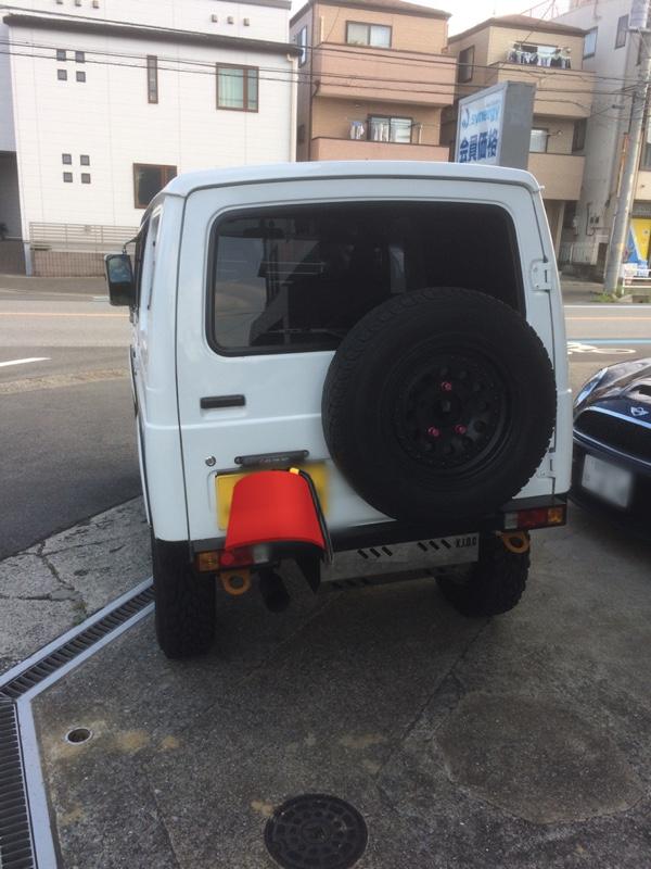タニグチ 調整式スペアタイヤブラケット