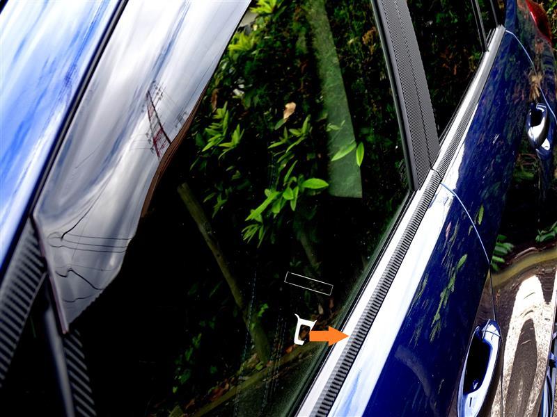 fzフォルツァンド アンダーモールライン 4Dカーボン調