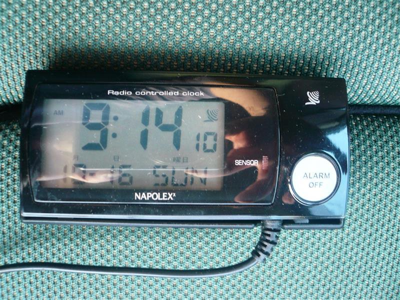 NAPOLEX NAPOLEX 車用電波時計