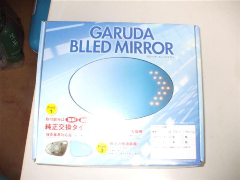 GARUDA BLLED MIRROR