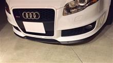 RS4アバント (ワゴン)SEAT Cupra-R lipspoilerの全体画像