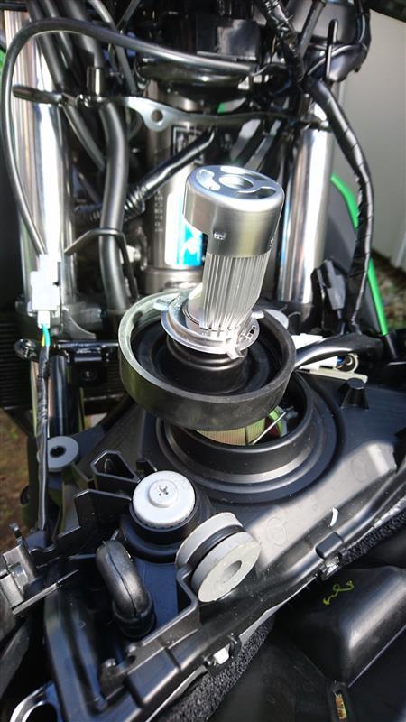 Safego H4 HS1 バイク用LEDヘッドライト LEDバルブ12V 20W 2000Lm SMD LEDホワイト