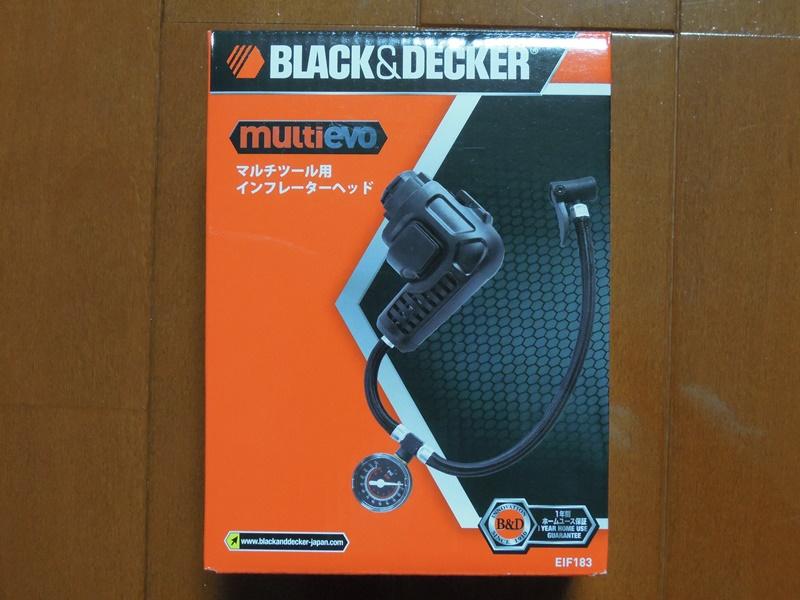 BLACK&DECKER インフレーターヘッド