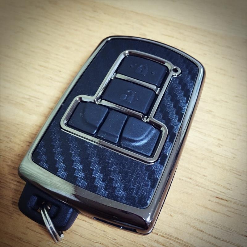 CAR MATE / カーメイト キーカバー トヨタ用C カーボン調ブラックメッキ / DZ251