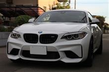 M2 クーペBMW(純正) BMW Performance ブラックキドニーグリルの単体画像