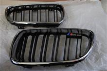 M2 クーペBMW(純正) BMW Performance ブラックキドニーグリルの全体画像
