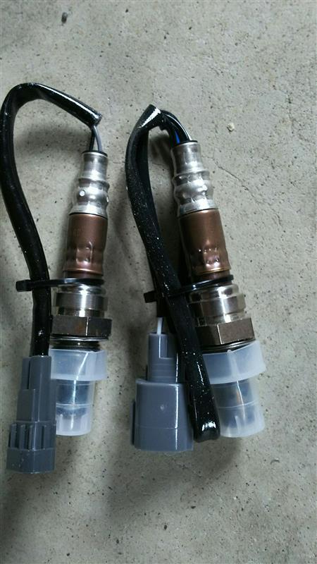 ヤフオク 排気温度センサー(前後セット)
