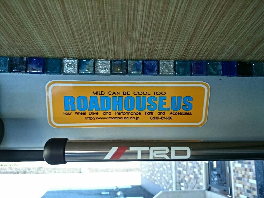 ROAD HOUSE roadhouse us ステッカー
