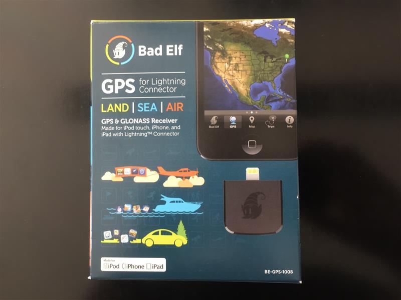 Bad Elf GPS for Lightning Connector