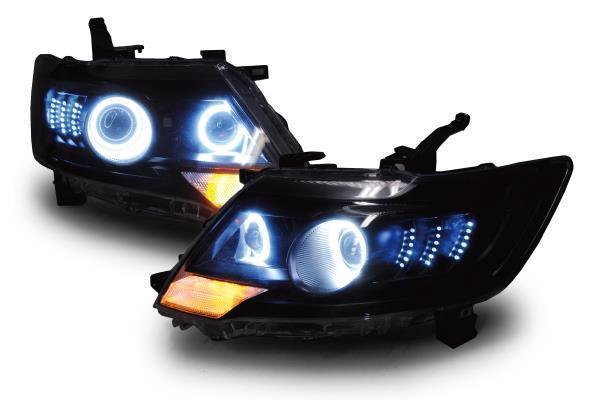オールカープロダクツ イカリング&ダブルプロジェクターヘッドライト
