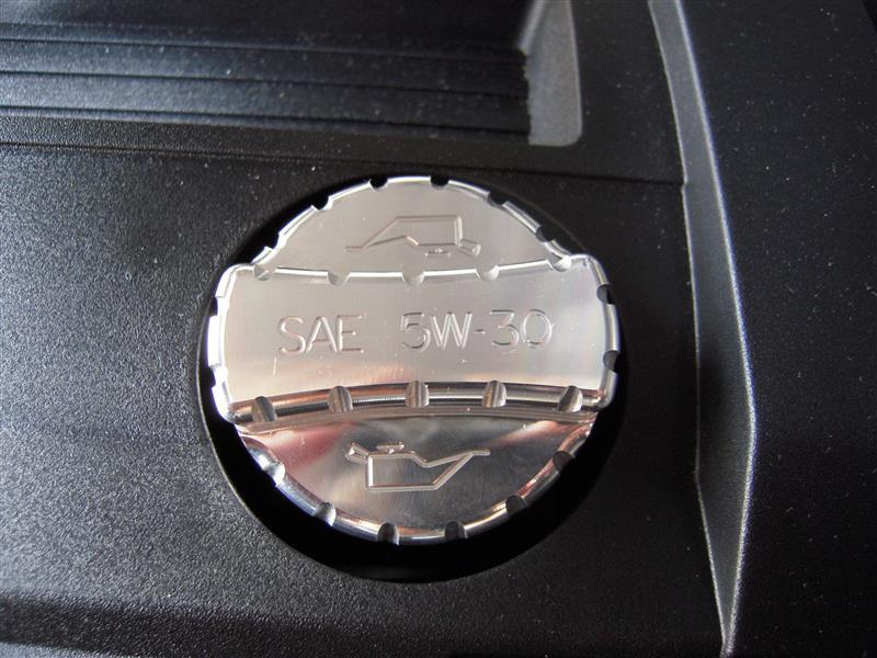 UPR Oil Cap Cover Engraved Billet Satin 1031-32
