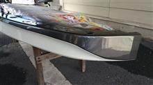 NISSAN GT-R日産(純正) ノーマルフロントディフューザーオリジナル塗装仕様の単体画像