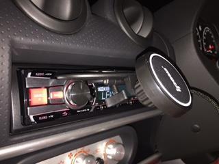 Ipow 磁石式CDスロット取付型ホルダー