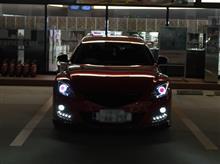 アテンザスポーツワゴンTPF たけぴーファクトリーオリジナル純正加工ヘッドライトの全体画像