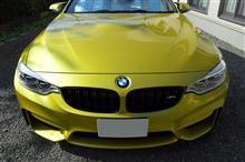 M4 クーペBMW(純正) BMW Performance ブラックキドニーグリルの単体画像