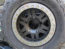ディフェンダーTerrafirma TF102 : Rvs Alloy Wheel Matt Blackの単体画像