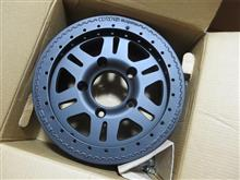 ディフェンダーTerrafirma TF102 : Rvs Alloy Wheel Matt Blackの全体画像