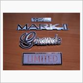 トヨタ(純正) トヨタ MARKⅡ GX71 エンブレム
