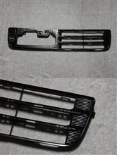 Nボックスカスタムホンダ(純正) フロントバンパーダクトガーニッシュ(下)艶黒化の単体画像