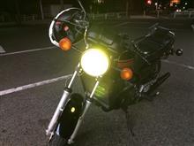 RZ250e-auto-fun バイクライトLEDヘッドライト H4 3000ルーメン 12V-24V Hi/Lo切り替え型 ファンレス一体型の単体画像