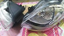 スカイウェイブ400トクトヨ 純正タイプヘッドライトの単体画像