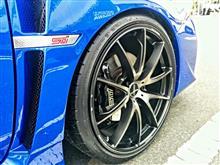 WRX STIRAYS VOLK RACING G25Edgeの単体画像