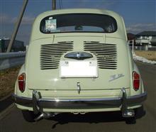 600FD Ricambi Bumper horn 取付の全体画像