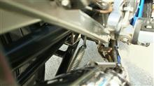 YBR125ウィルズウィン ダイナミックマフラーの全体画像