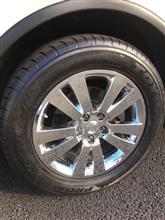 トライベッカスバル(純正)  Genuine Chrome wheelの単体画像