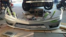 Eクラス ステーションワゴンJQコンスタント AMG E63バンパーセットの全体画像