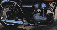 W800BEET JAPAN NASSERT TRAD-V ヒートガードボス付き仕様の全体画像