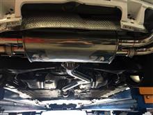 TT クーペArmytrix Catback Exhaust Systemの単体画像