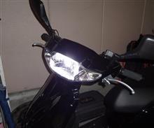 タクトベーシック AF79メーカー・ブランド不明 LED ヘッドライトの全体画像