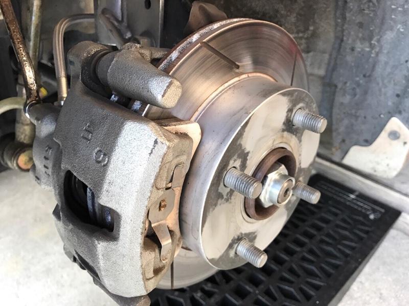 RS mach 12inchベンチレーテッドスリットローター