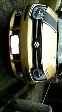 イグニスUMP-PROT CarOver バンパーガード カーボン調の全体画像
