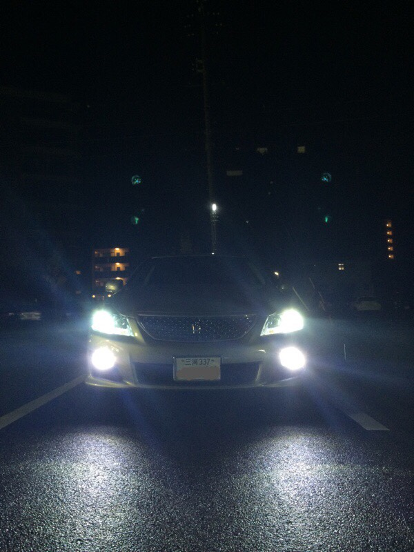 licorice LEDフォグランプ6000k