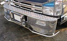 エルフトラック秘密工場 バンパーアンダーパイプ・丸パイプタイプの全体画像