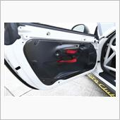ポルシェモータースポーツ GT4クラブスポーツ純正 カーボンドアフレーム 左右セット