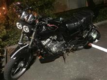ジェイド(バイク)バグブロドットコム バグアイ ヘッドライトの全体画像