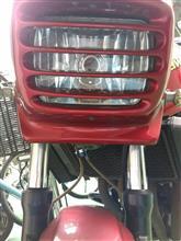 ZRX400KAWASAKI DAEG用ヘッドライトの全体画像
