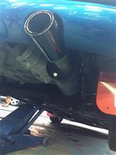 207 (ハッチバック)REMUS ストリートレースマフラーの全体画像