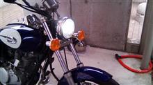 エリミネーター125N'sアーリアネット LEDヘッドライト H4 Hi/Lo切替の単体画像