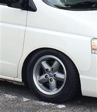 ステップワゴン「某社・ 元祖クロカン系車用・純正アルミホイール」の全体画像